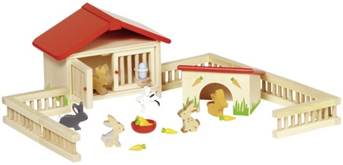 Goki Rabbit hutch