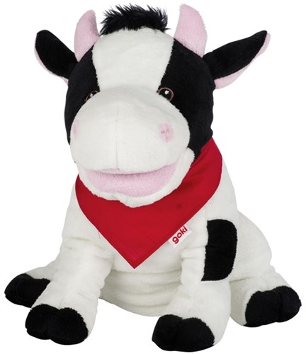 Goki Hand puppet cow Karry