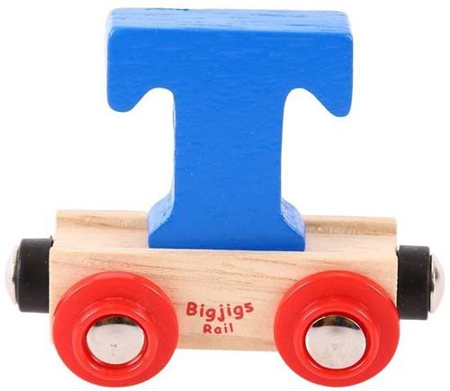 BigJigs Rail Name Letter T, BIGJIGS, LETTERTREIN T-2