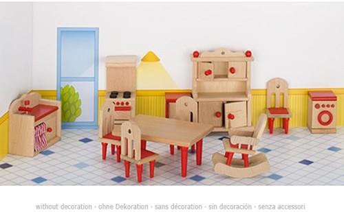 Goki Furniture for flexible puppets, kitchen 2