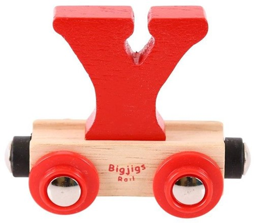BigJigs Rail Name Letter Y-1