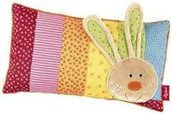 Sigikid  pluche knuffel Kussen Rainbow Rabbit 40991 - 35 cm