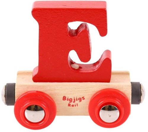 BigJigs Rail Name Letter E , BIGJIGS, LETTERTREIN E