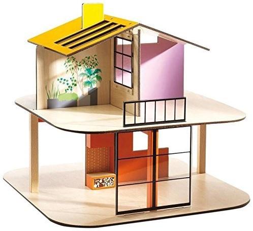 Djeco Poppenhuis Color House
