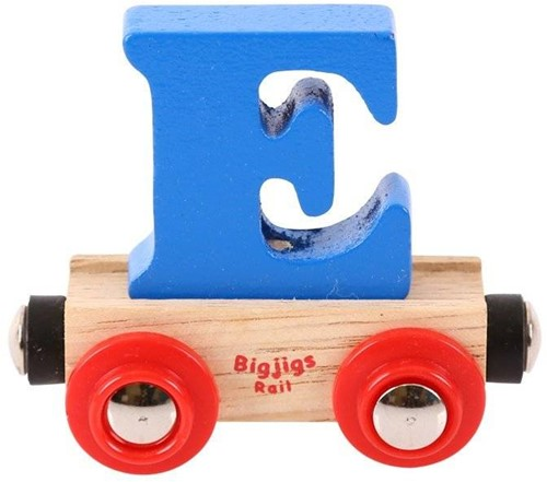 BigJigs Rail Name Letter E , BIGJIGS, LETTERTREIN E-2