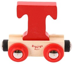 BigJigs Rail Name Letter T, BIGJIGS, LETTERTREIN T