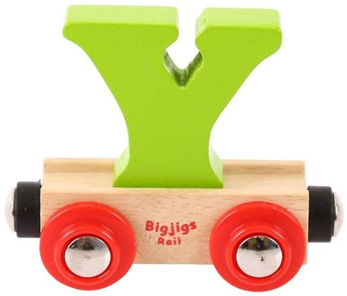 BigJigs Rail Name Letter Y, BIGJIGS, LETTERTREIN Y-2