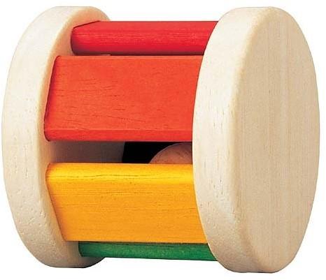 Plan Toys houten rammelaar Roller