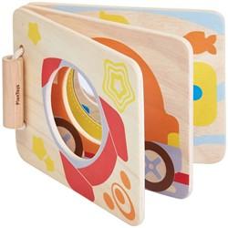 Plan Toys  houten babyboek Mirror baby book