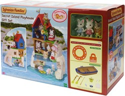 Sylvanian Families Secret Island Playhouse Gift Set 5246