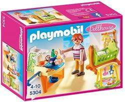 Playmobil Dollhouse - Babykamer met wieg   5304