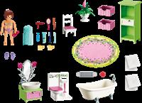 Playmobil Dollhouse - Badkamer met bad op pootjes 5307 bij Planet Happy