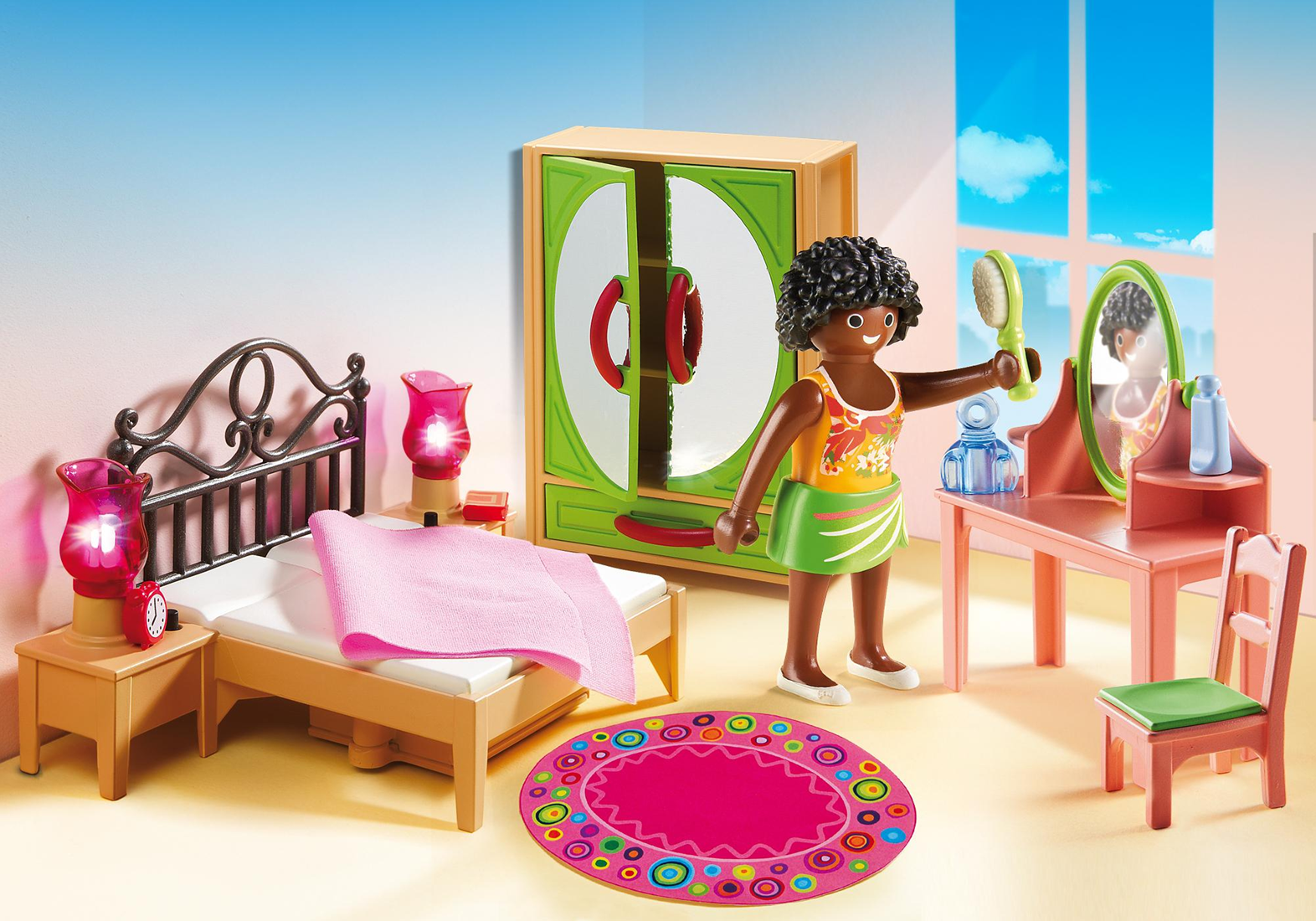 Playmobil Dollhouse - Slaapkamer met kaptafel 5309 bij Planet Happy
