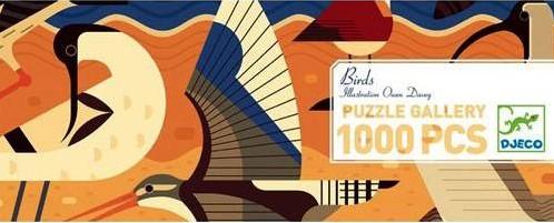 Djeco puzzel Vogels - 1000 stukjes