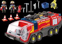 Playmobil City Action - Luchthavenbrandweer met licht en geluid  5337-2