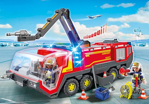 Playmobil City Action - Luchthavenbrandweer met licht en geluid  5337-3