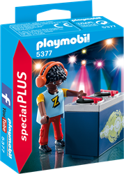 Playmobil  Special Plus DJ Z 5377