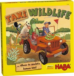 Haba  kinderspel Taxi wildlife 7193