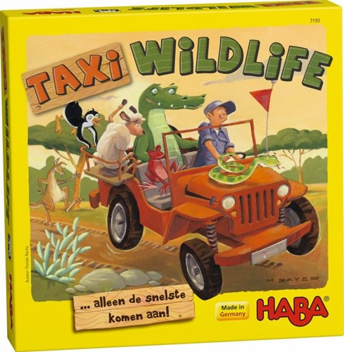 Haba  kinderspel Taxi wildlife 7193-1