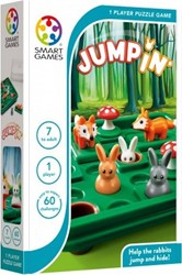 Smart Games - Puzzelspellen - Jump'in (60 opdrachten)