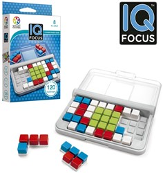 Smart Games - Puzzelspellen - IQ Focus (120 opdrachten)