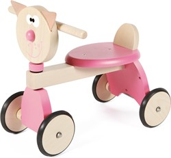 Scratch houten loopfiets Walker Kat