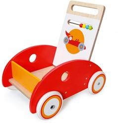 Scratch houten loopwagen Auto Racer