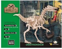Gepetto's Workshop  houten knutselspullen Ornithomimus