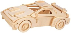 Gepetto's Workshop  houten knutselspullen Race Car