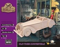 Gepetto's Workshop  houten knutselspullen old-timer convertible