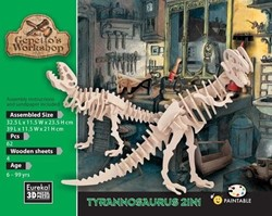 Gepetto's Workshop  houten knustelspullen Tyrannosaurus 2in1