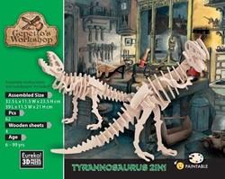 Gepetto's Workshop  houten knustelspullen Tyrannosaurus 2in1