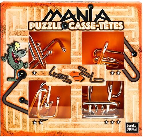 Planet Happy puzzelspel Puzzle Mania Casse-têtes Orange
