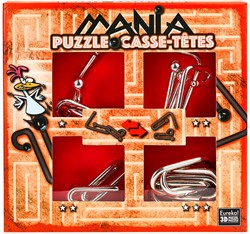Planet Happy puzzelspel Puzzle Mania Casse-têtes Red