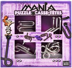 Planet Happy puzzelspel Puzzle Mania Casse-têtes Purple