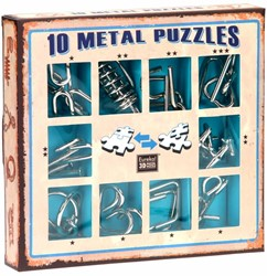 Eureka puzzelspel 10 Metal Puzzles Set color 1
