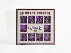 Eureka puzzelspel 10 Metal Puzzles Set color 4