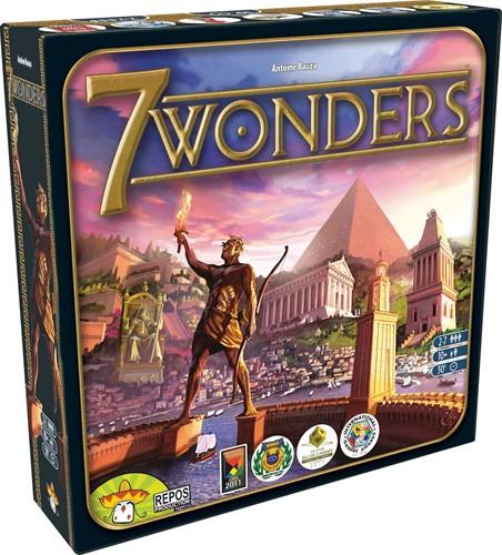 Repos bordspel 7 Wonders - NL