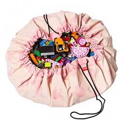 Play&Go - speelgoed opbergzak -  Pink Elephant