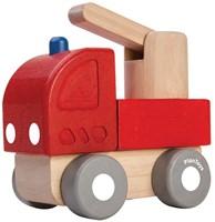 Plan Toys houten Brandweerauto