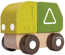 Plan Toys houten Vuilinswagen