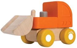 Plan Toys  houten speelvoertuig Mini Bulldozer
