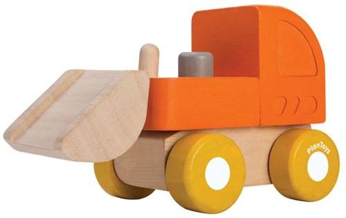 Plan Toys houten Bulldozer