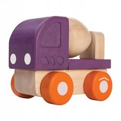 Plan Toys  houten speelvoertuig Mini Cement Truck