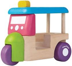 Plan Toys houten auto Tuk Tuk