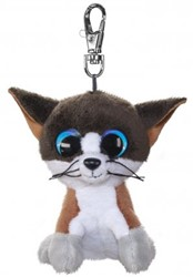 Lumo Stars Knuffeldier Lumo Cat Forest met clip - Mini - 8,5cm