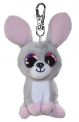 Lumo Stars Knuffeldier Lumo Bunny Pupu met clip - Mini - 8,5cm