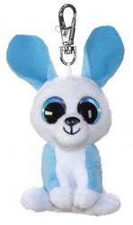 Lumo Stars Knuffeldier Lumo Bunny Ice met clip - Mini - 8,5cm