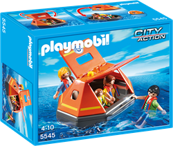 Playmobil  City Action Reddingsvlot met drenkelingen 5545
