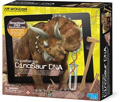 4M AR Wonders: DINOSAURUS DNA - TRICERATOPS